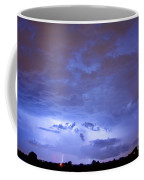 Big Sky With Small Lightning Strikes In The Distance Coffee Mug by James BO  Insogna