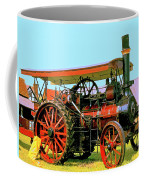Big Steamer Coffee Mug by Dominic Piperata