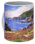 Big Sur Wildflowers - Plein Air Coffee Mug