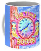 Big Time Boots - Nashville Hot Pink Coffee Mug