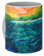 Big Tropical Wave Coffee Mug