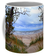 Big Waves On Lake Michigan 2.0 Coffee Mug