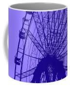 Big Wheel Blue Coffee Mug