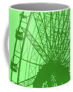 Big Wheel Green Coffee Mug