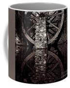 Big Wheel In Bw Coffee Mug