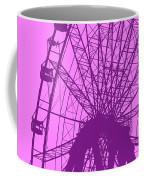 Big Wheel Purple Coffee Mug
