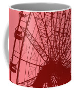 Big Wheel Red Coffee Mug