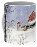 Big White Horse Coffee Mug