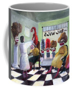 Big Wigs And False Teeth Coffee Mug