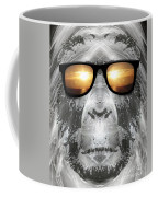 Bigfoot In Shades Coffee Mug
