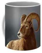 Bighorn Sheep In Winter Coffee Mug