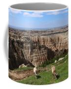 Bighorn Sheeps At Sage Creek Coffee Mug
