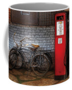 Bike - Two Bikes And A Gas Pump Coffee Mug