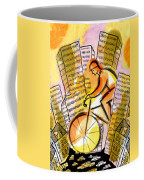 Bike And The City Coffee Mug