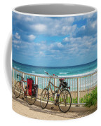 Bike Break At The Beach Coffee Mug