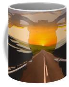 Bike Canyon Highway Coffee Mug