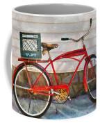 Bike - Delivery Bike Coffee Mug by Mike Savad