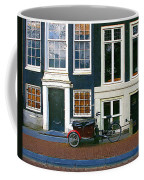 Bike With The Red Fenders Coffee Mug