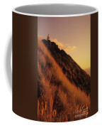 Biking At Sunset Coffee Mug