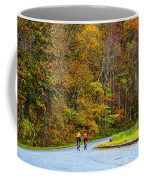 Biking On The Parkway Coffee Mug