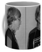 Bill Gates Mug Shot Horizontal Black And White Coffee Mug