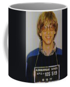Bill Gates Mug Shot Vertical Color Coffee Mug