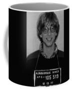 Bill Gates Mug Shot Vertical Black And White Coffee Mug