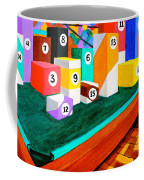 Billiard Table Coffee Mug