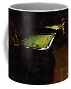 Billiards Ballet Coffee Mug