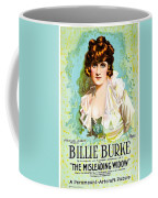 Billie Burke In The Misleading Widow 1919 Coffee Mug