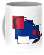 Bills Abstract Shirt Coffee Mug