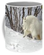 Billy Goat On The Move Coffee Mug