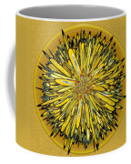 Billy Jean -- Floral Disk Coffee Mug