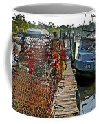 Billys Nets And Sinking Work Boat Coffee Mug