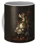Bindweed And Chrysanthemums Coffee Mug