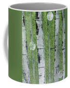 Birch - Green 1 Coffee Mug by Jacqueline Athmann