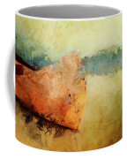 Birch Bark Canoe At Rest Coffee Mug