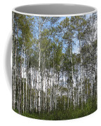 Birch Forest Coffee Mug