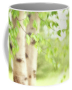 Birch In Spring Coffee Mug