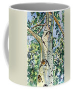 Birch Tree Sketchbook Project Down My Street Coffee Mug