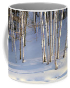Birch Trees In The Snow, South Coffee Mug