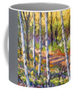 Birches 02 Coffee Mug
