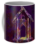 Bird Feeder Colorful Feeding Wood  Coffee Mug