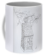 Bird In A Line Coffee Mug