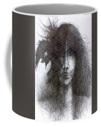 Bird In Hair  Coffee Mug