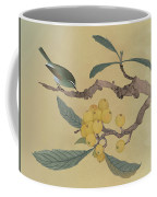 Bird In Loquat Tree Coffee Mug
