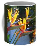 Bird Of Paradise Backlit By Sun Coffee Mug by Amy Vangsgard
