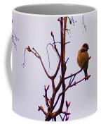 Bird On A Bud Coffee Mug