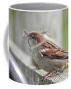 Bird On A Fence Coffee Mug