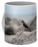 Bird On A Rock By The Sea Portable Battery Charger for ...